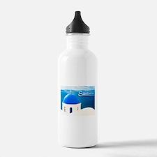 Funny Greece Sports Water Bottle