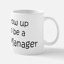 Grow Up Database Manager Mug