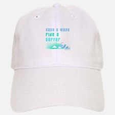 Save a wave - Baseball Baseball Cap