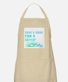 Save a wave -  BBQ Apron