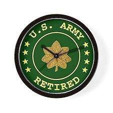 Retired Army Major Clock
