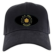 Retired Army Major Baseball Hat
