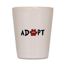 Adopt - Paw Shot Glass