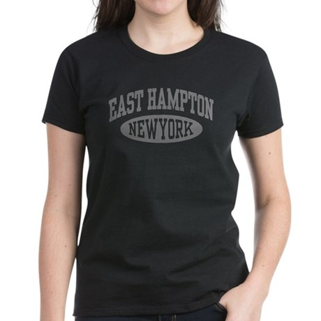 East Hampton NY Women's Dark T-Shirt