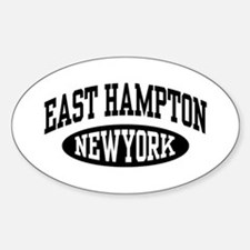East Hampton NY Sticker (Oval)