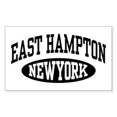 East Hampton NY Sticker (Rectangle)