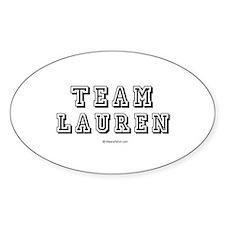 TEAM LAUREN (LC) - Oval Decal