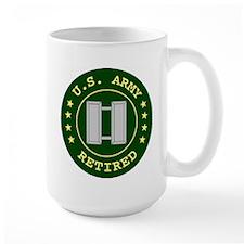 Retired Army Captain Mug