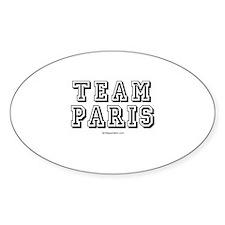 Team Paris - Oval Decal