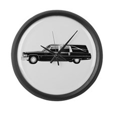 HEARSE Large Wall Clock