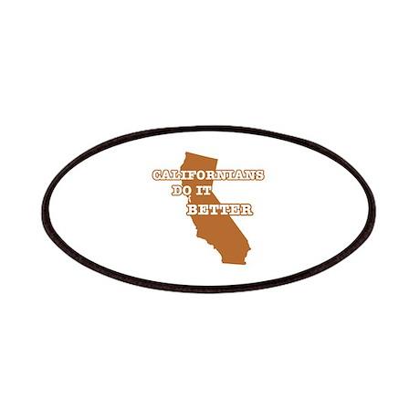 Californians Do It Better Patches