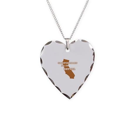 Californians Do It Better Necklace Heart Charm