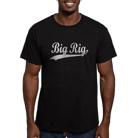 BIG RIG! Men's Fitted T-Shirt (dark)