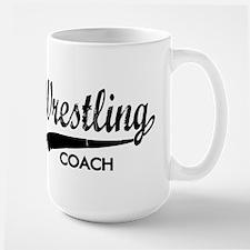 WRESTLING COACH Large Mug