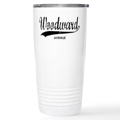 WOODWARD AVE Stainless Steel Travel Mug