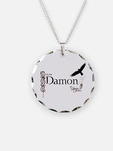 THE VAMPIRE DIARIES Damon & Raven Necklace
