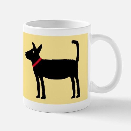 Dan The Black Dog Mug