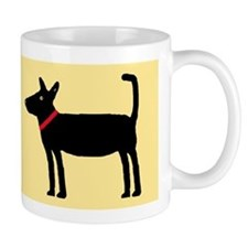Dan The Black Dog Small Mug