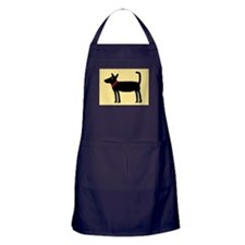 Dan The Black Dog Apron (dark)