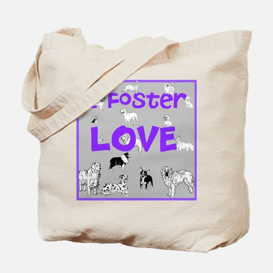Foster Dog Tote Bag
