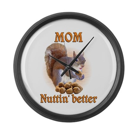 Moms Large Wall Clock