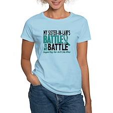 My Battle Too Ovarian Cancer T-Shirt