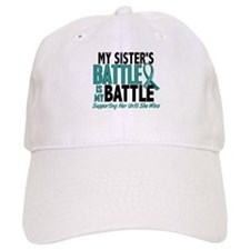 My Battle Too Ovarian Cancer Cap