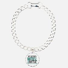 My Battle Too Ovarian Cancer Bracelet