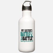 My Battle Too Ovarian Cancer Water Bottle