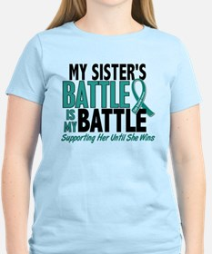 My Battle Too Ovarian Cancer T-Shirt