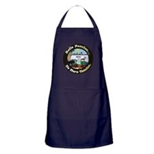 Cute Pensioner Apron (dark)