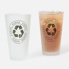 Vintage Karma Drinking Glass