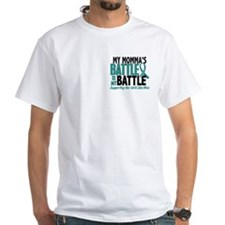 My Battle Too Ovarian Cancer Shirt