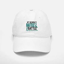 My Battle Too Ovarian Cancer Baseball Baseball Cap