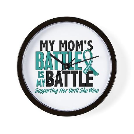 My Battle Too Ovarian Cancer Wall Clock