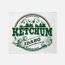 Ketchum Old Circle Throw Blanket