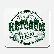 Ketchum Old Circle Mousepad
