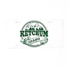 Ketchum Old Circle Aluminum License Plate