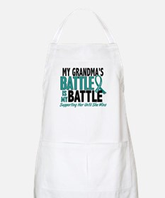 My Battle Too Ovarian Cancer Apron