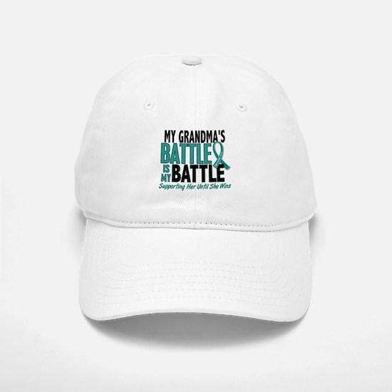 My Battle Too Ovarian Cancer Hat