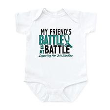 My Battle Too Ovarian Cancer Infant Bodysuit