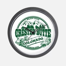 Crested Butte Old Circle Wall Clock
