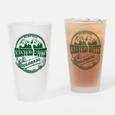 Crested Butte Old Circle Drinking Glass