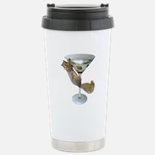 Martini Squirrel Travel Mug