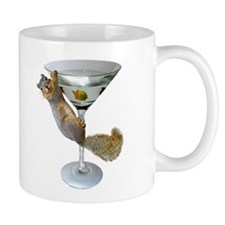 Martini Squirrel Mug