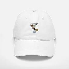 Martini Squirrel Baseball Baseball Cap