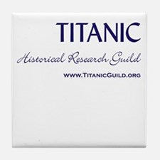 Titanic Guild Logo Ceramic Tile Coaster