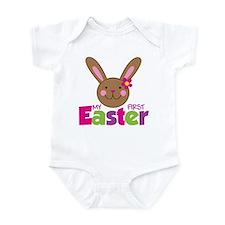 Girl Easter Bunny 1st Easter Infant Bodysuit