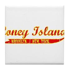 Coney Island Brooklyn, New Yo Tile Coaster