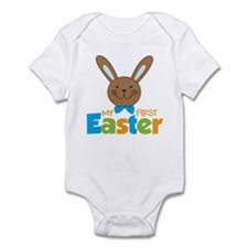 Boy Easter Bunny 1st Easter Onesie